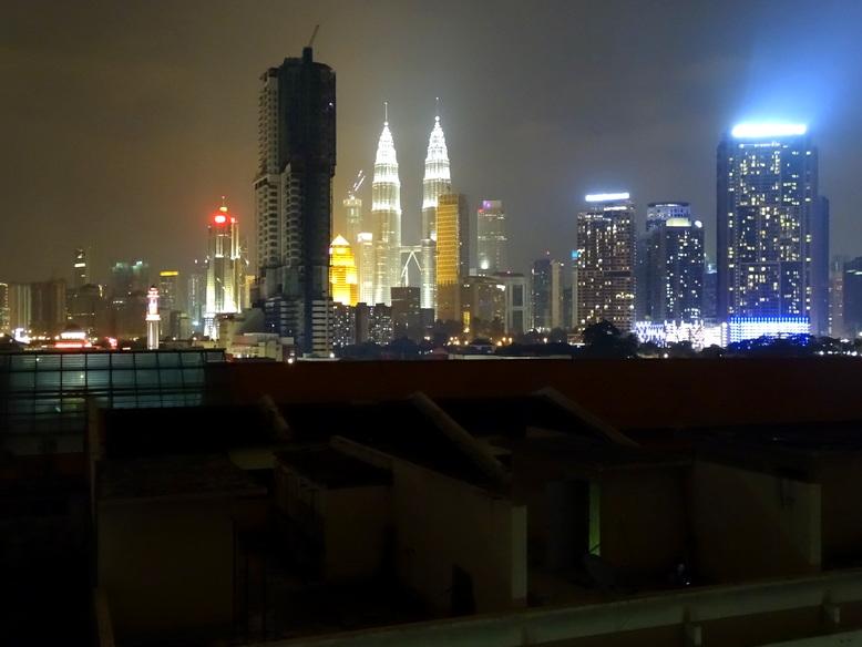Vistas del Skyline desde la azotea